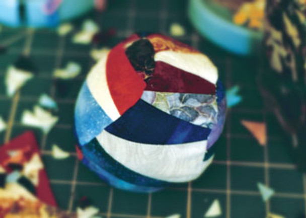 Patchwork Massage Ball Paper Pieced Quilt Pattern