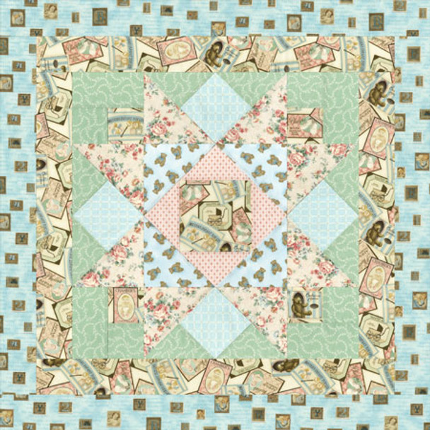 Newborn Star Paper Pieced Quilt Pattern