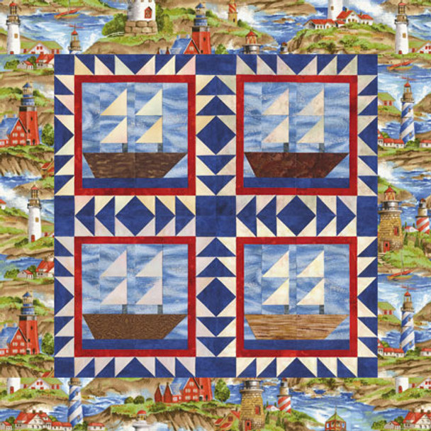 Explorer of the Seas Paper Pieced Quilt Pattern