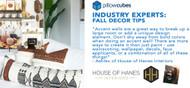 Industry Expert Fall Decor Tips (Interior Design & Blogger Fall Decor Tips & Tricks)