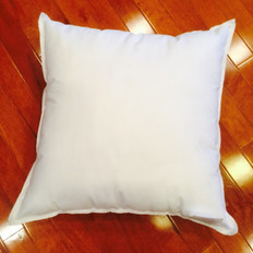 "21"" x 21"" 25/75 Down Feather Pillow Form"