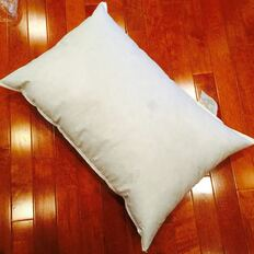 "11"" x 22"" Polyester Non-Woven Indoor/Outdoor Pillow Form"