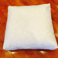 "25"" x 25"" x 3"" 25/75 Down Feather Box Pillow Form"