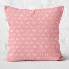 Pink Elbows Throw Pillow