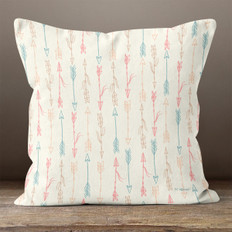 Ivory Follow Your Arrow Throw Pillow