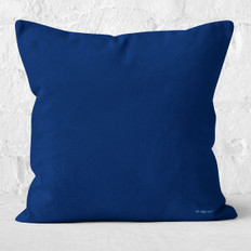 Dark Blue Throw Pillow
