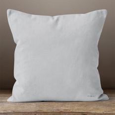 Light Grey Throw Pillow