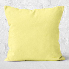 Light Yellow Throw Pillow