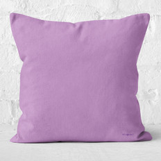 Light Purple Throw Pillow