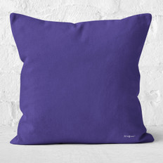 Purple-Blue Throw Pillow