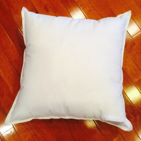 "10"" x 10"" 25/75 Down Feather Pillow Form"