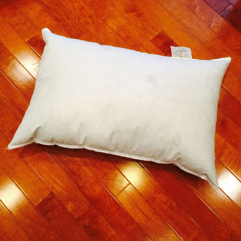 """10"""" x 19"""" Synthetic Down Pillow Form"""