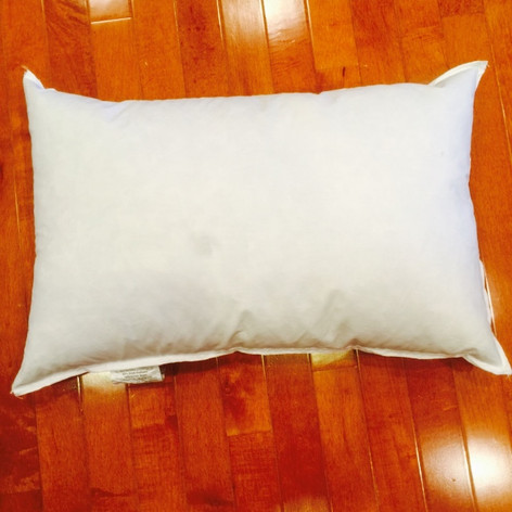 "10"" x 19"" 25/75 Down Feather Pillow Form"