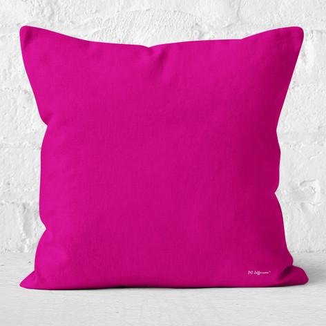 Dark Pink Throw Pillow