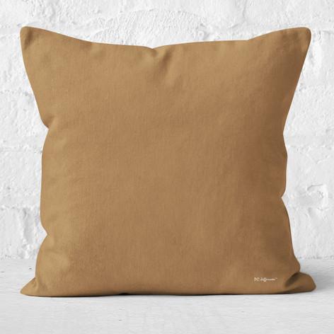 Light Brown Throw Pillow