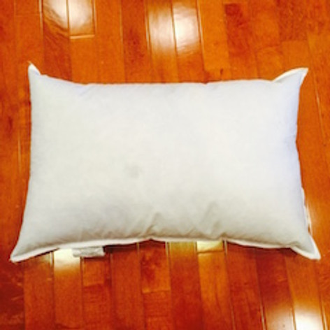 """11"""" x 31"""" 10/90 Down Feather Pillow Form"""