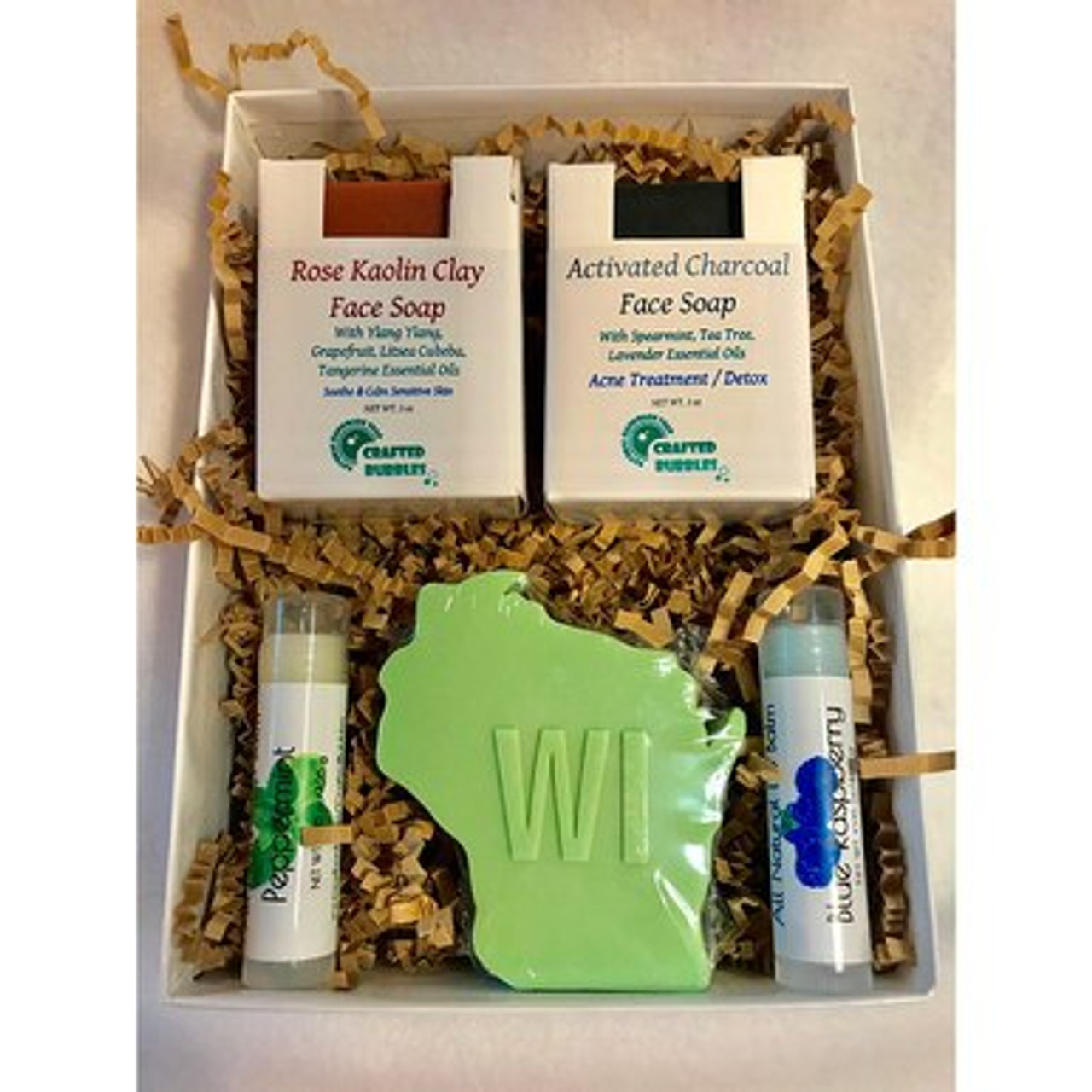Www Made Com Fr wisconsin made soap and lip balm gift box