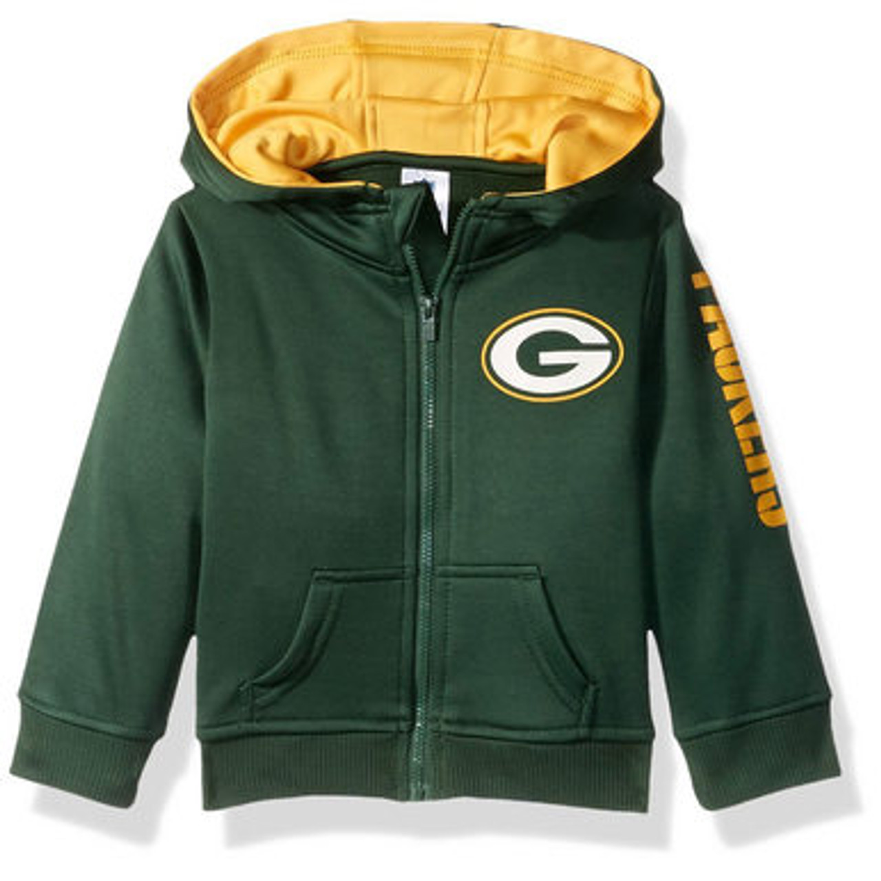 9e8884363 Green Bay Packers Full Zip Hoodie - Infant and Toddler ...