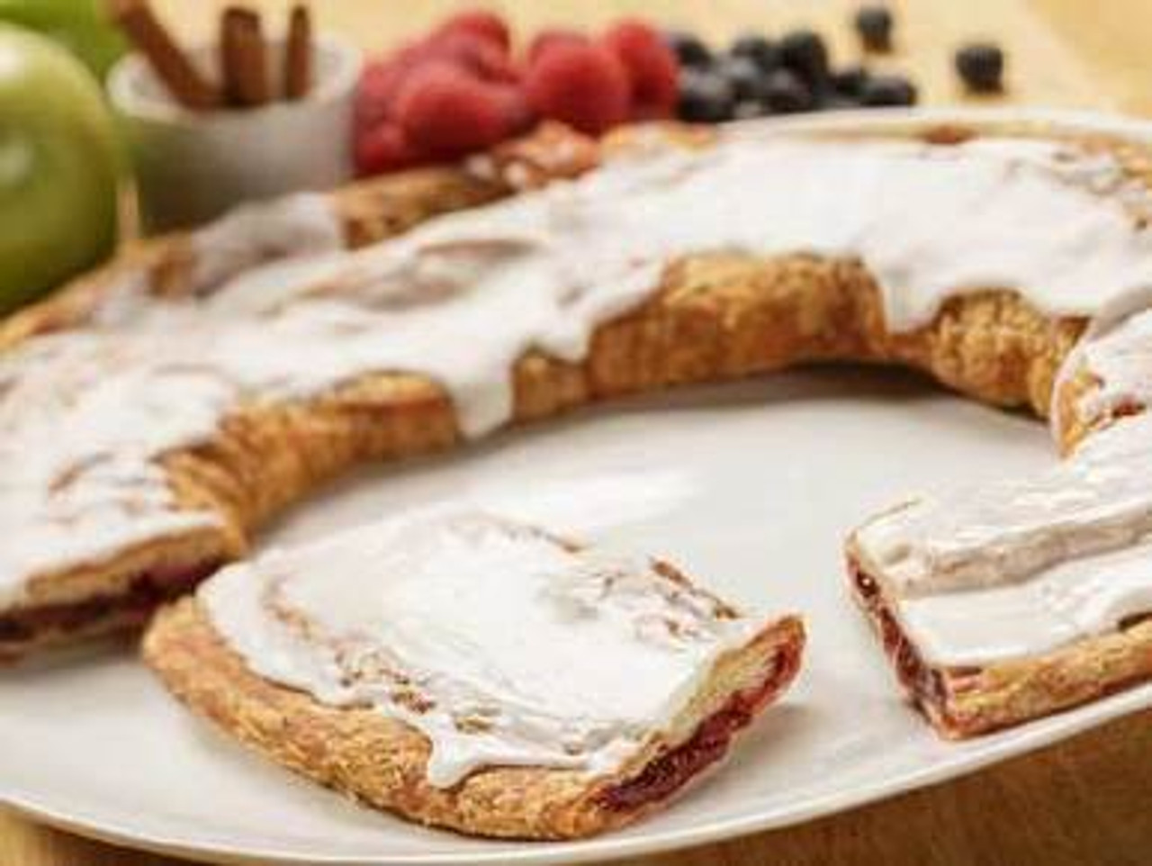Danish traditional flavor Almond Kringle available on WisconsinMade Artisan Collective