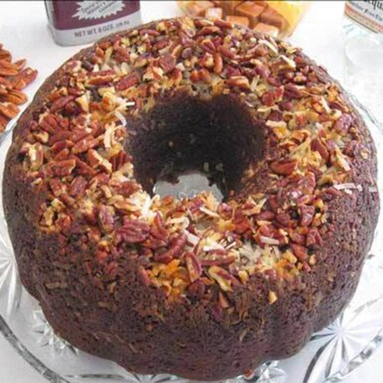 German Chocolate Cake with Caramel Vodka