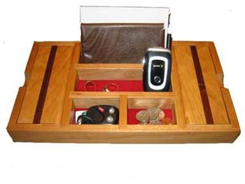 Red Oak Dresser Valet