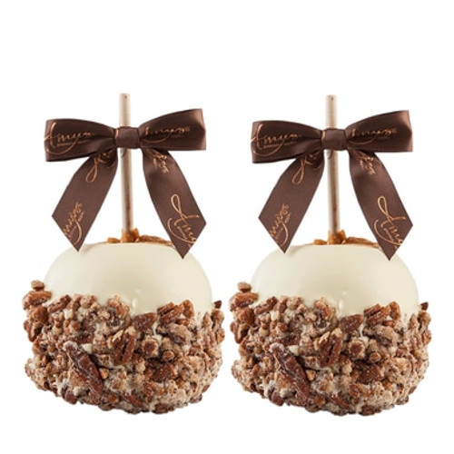 Chocolate Dunked and Candy Coated Gourmet Caramel Apples - Set of 2