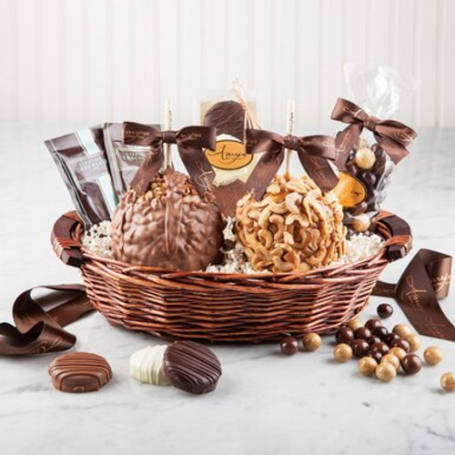 Gourmet Caramel Apple Gift Basket as seen on WisconsinMade Artisan Collective