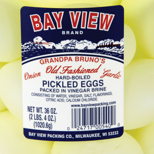 Grandpa Brunos Garlic and Onion Pickled Eggs - 2 Jars