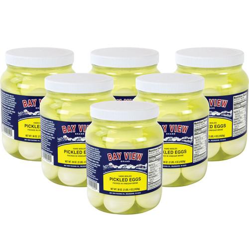 Pickled Eggs - Case of 6 Jars