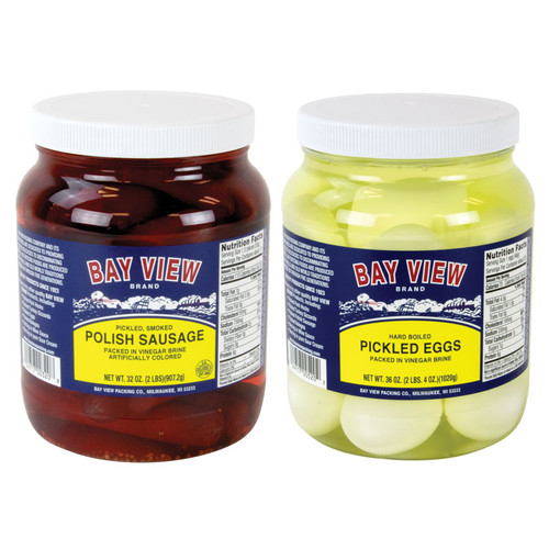 Bay View Pickled Food Combo - Eggs and Meat