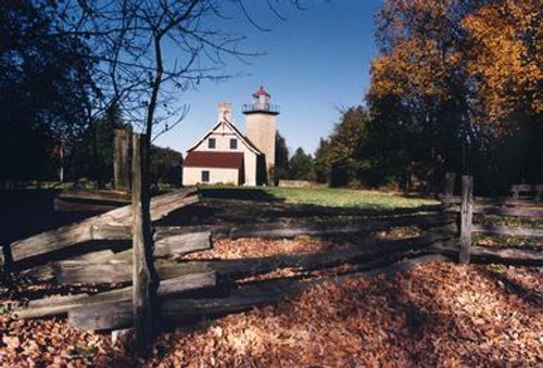 Eagle Bluff Lighthouse Photograph