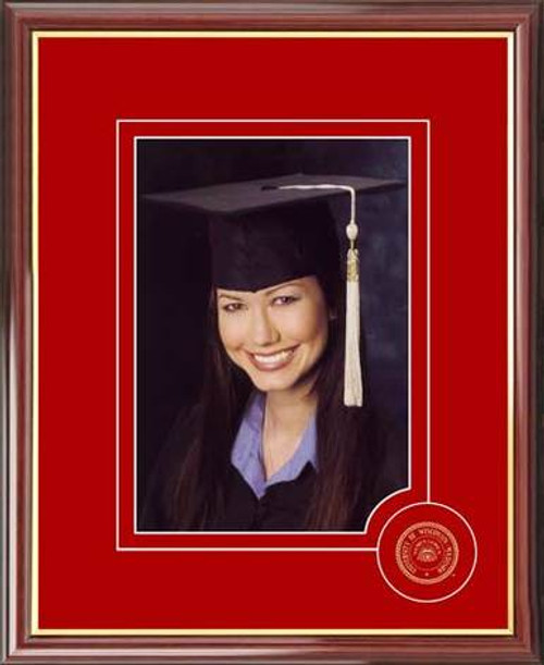 University of Wisconsin Portrait Photo Frame