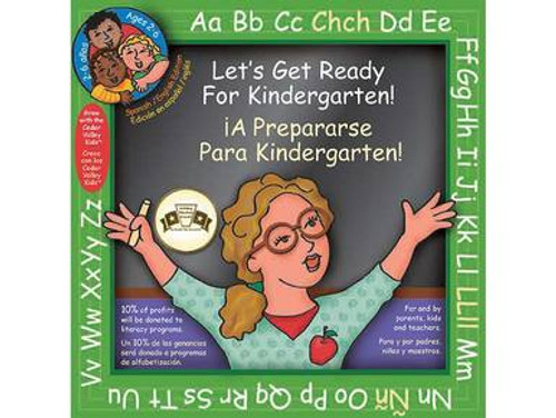 Let's Get Ready for Kindergarten - English/Spanish Edition - Book