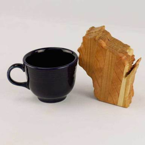 Wisconsin State Wood Coasters