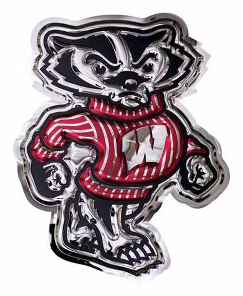 Metal Art - Wisconsin Bucky Badger