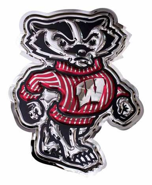 Metal Art - Wisconsin Bucky Badger