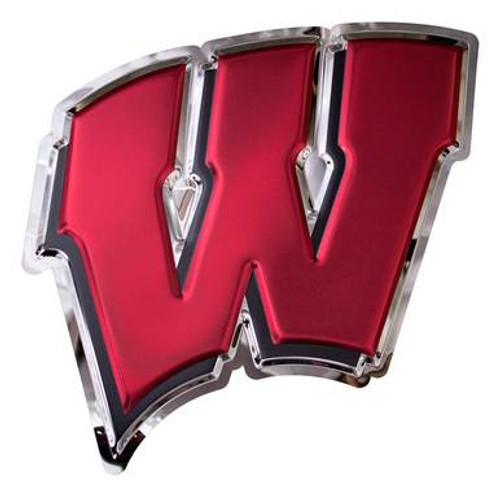 Metal Art - Wisconsin Badgers Motion W