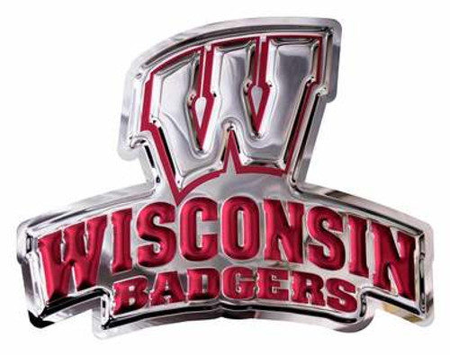 Metal Art - Wisconsin Badgers Wall Hanging