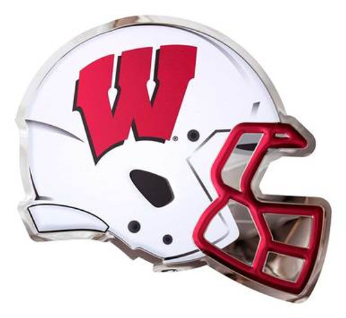 Metal Art - Badgers Football Helmet