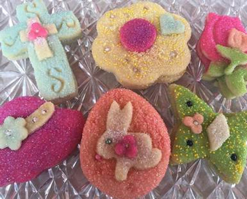 He Has Risen Easter Sugar Cookies