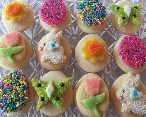 Sugar Crisp Easter Egg Sandwich Cookies