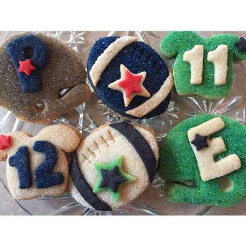 Super Bowl Sugar Cookie Gift Box
