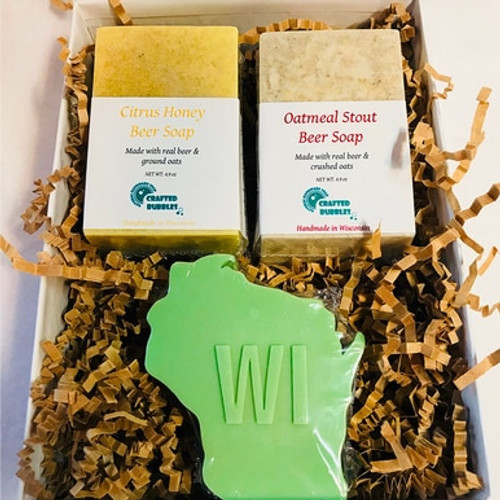 Wisconsin Lover Soap Gift Box