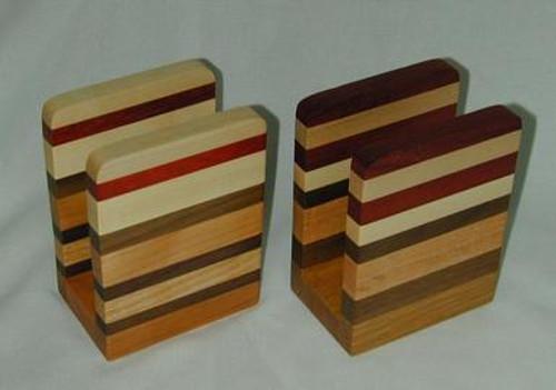 Hardwood Napkin or Letter Holder