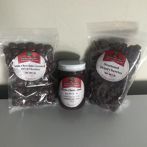 Door County Dried Cherry Gift Pack