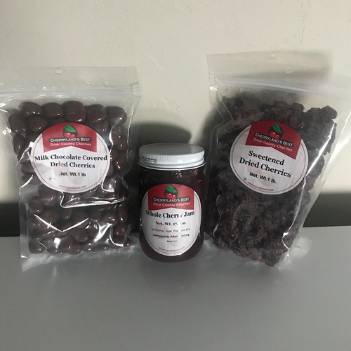 Door County Dried Cherry Gift Pack