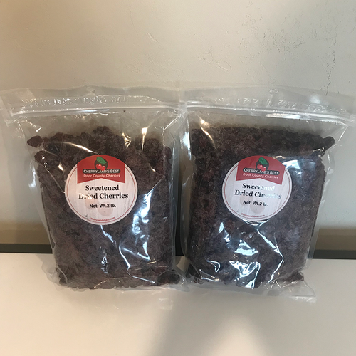 Door County Dried Cherries Two 2 lb. packs
