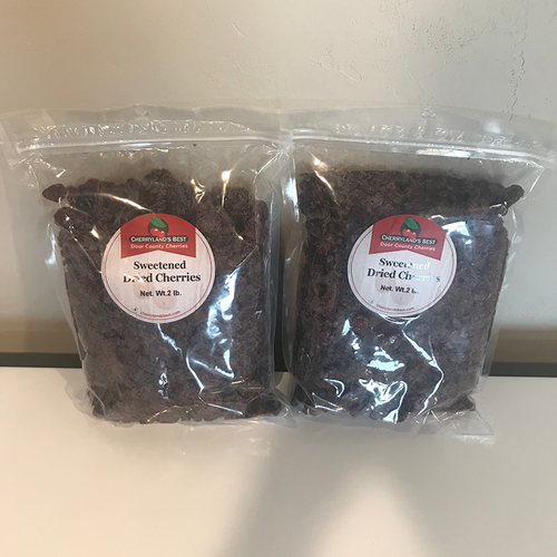Door County Cherryland's Best, Sweetened Dried Cranberries - Two 2 lb. Packs