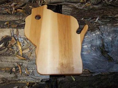 Wisconsin State Maple Cutting Board
