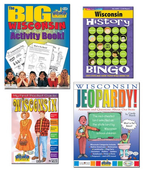 All About Wisconsin Book and Activity Set